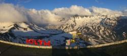 Archiv Foto Webcam La Thuile Panoramablick 05:00