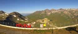 Archiv Foto Webcam La Thuile Panoramablick 02:00