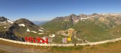 Archiv Foto Webcam La Thuile Panoramablick 04:00