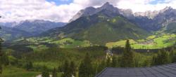 Archiv Foto Webcam Panorama Restaurant Auszeit Werfenweng 11:00