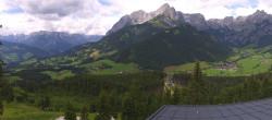 Archiv Foto Webcam Panorama Restaurant Auszeit Werfenweng 13:00