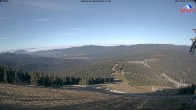 Archived image Webcam View from the top station at Großer Arber 08:00
