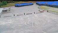 Archiv Foto Webcam Willingen: Auslauf der Mühlenkopfschanze und Zuschauerbereich 02:00