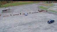 Archiv Foto Webcam Willingen: Auslauf der Mühlenkopfschanze und Zuschauerbereich 12:00