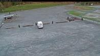 Archiv Foto Webcam Willingen: Auslauf der Mühlenkopfschanze und Zuschauerbereich 14:00