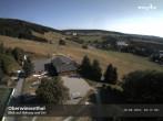Archiv Foto Webcam auf den Haupthang des Skigebiets Oberwiesenthal Fichtelberg 08:00