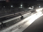 Archiv Foto Webcam Bahnhof im Kurort Oberwiesenthal 03:00
