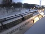 Archiv Foto Webcam Bahnhof im Kurort Oberwiesenthal 07:00