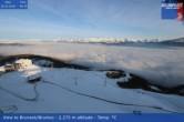 Archiv Foto Webcam Sicht auf Bruneck 02:00