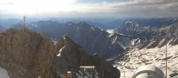 Archiv Foto Webcam Panoramablick Zugspitze 00:00