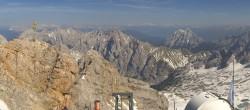 Archiv Foto Webcam Panoramablick Zugspitze 08:00