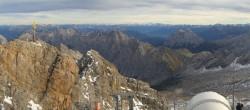 Archiv Foto Webcam Panoramablick Zugspitze 10:00