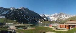 Archived image Webcam Le Lac de Tignes, Tignes 02:00