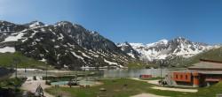 Archived image Webcam Le Lac de Tignes, Tignes 04:00