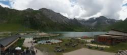 Archiv Foto Webcam Le Lac de Tignes 08:00