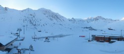 Archiv Foto Webcam Le Lac de Tignes 02:00