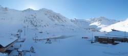 Archiv Foto Webcam Le Lac de Tignes 04:00