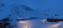 Archived image Webcam Le Lac de Tignes, Tignes 00:00
