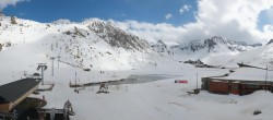 Archived image Webcam Le Lac de Tignes, Tignes 10:00
