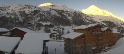Archiv Foto Webcam Tignes 1.800 02:00