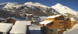 Archiv Foto Webcam Tignes 1.800 04:00