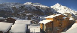 Archiv Foto Webcam Tignes 1.800 06:00