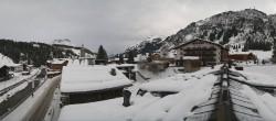 Archiv Foto Webcam Lech am Arlberg: Blick von Sport Strolz 02:00