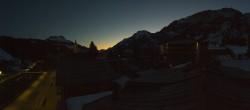 Archiv Foto Webcam Lech am Arlberg: Blick von Sport Strolz 00:00