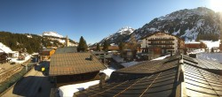 Archiv Foto Webcam Lech am Arlberg: Blick von Sport Strolz 04:00