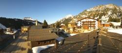 Archiv Foto Webcam Lech am Arlberg: Blick von Sport Strolz 12:00