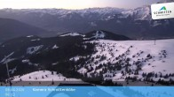 Archived image Webcam View Schmittenhöhe Ski Resort 00:00