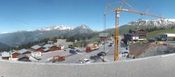 Archiv Foto Webcam La Rosière - Maison du Ski 02:00