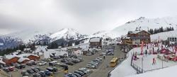Archiv Foto Webcam La Rosière - Maison du Ski 08:00
