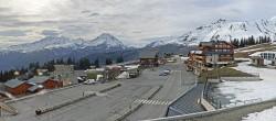 Archiv Foto Webcam La Rosière - Maison du Ski 12:00