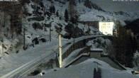 Archiv Foto Webcam Montenvers Bahnstation Chamonix 12:00