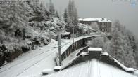 Archiv Foto Webcam Montenvers Bahnstation Chamonix 07:00