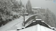 Archiv Foto Webcam Montenvers Bahnstation Chamonix 09:00