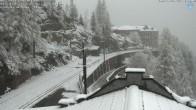 Archiv Foto Webcam Montenvers Bahnstation Chamonix 11:00