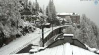 Archiv Foto Webcam Montenvers Bahnstation Chamonix 13:00