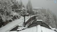 Archiv Foto Webcam Montenvers Bahnstation Chamonix 15:00