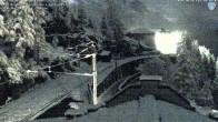 Archiv Foto Webcam Montenvers Bahnstation Chamonix 19:00