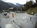 Archived image Webcam Plan Praz Base Station 08:00