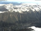 Archiv Foto Webcam Blick auf Chamonix 04:00