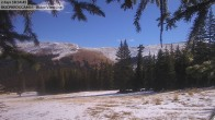 Archived image Webcam Mt Chair Lift Base Station Cooper Hill 04:00