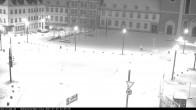 Archiv Foto Webcam Blick auf den Hahnplatz in Prüm mit der Basilika und der Abtei 02:00