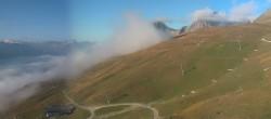 Archiv Foto Webcam Corviglia St. Moritz: Panorama Piz Nair 02:00