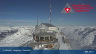 Archived image Webcam Corvatsch Ski Resort: Top Station 23:00