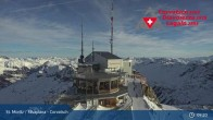 Archived image Webcam Corvatsch Ski Resort: Top Station 03:00