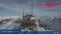 Archived image Webcam Corvatsch Ski Resort: Top Station 05:00