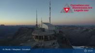 Archiv Foto Webcam Corvatsch: Bergstation 21:00
